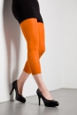 Legging 40 DEN Microfaser -Orange-